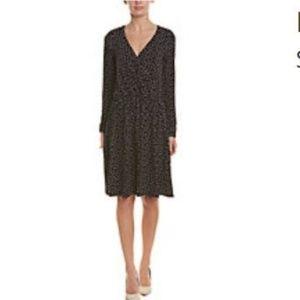 NWT Leota Lavender Black Dot Dress